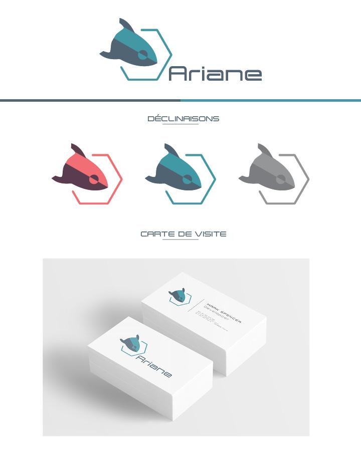 logo et charte graphique ariane
